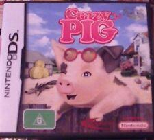 DS  CRAZY PIG  Nintendo DSI 2DS 3DS - complete. 30 DAYS WARRANTY.
