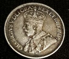 1936 10C Canada 10 Cents Dime KGG Silver