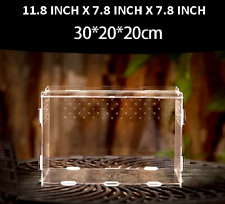 Reptile Cage Enclosure Box Tarantula Insect Lizard Snake Scorpion Frog Turtle
