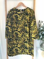 Dotti Dress (size 10) Greek Baroque style Print