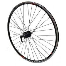 700c REAR Mach Omega Cyclo Cross Bike Joytech Disc Cassette Hub Wheel in Black