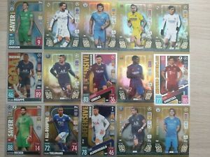 Match Attax 2021/22 RARE Limited Edition Gold and foil cards - You Choose