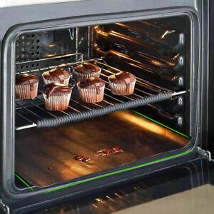 1PCS Non Stick Oven Liner Baking Large Aide Dishwasher Black Reusable Spill Mat