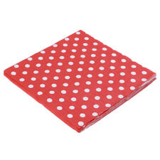 20PCS Polka Dot Tissue Napkins Baby Shower Wedding Event Party Paper Towel ZB