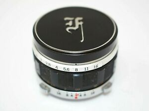 Olympus 38mm f1.8 F.Zuiko Lens for Pen F/FT Half Frame Cameras