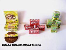 Bancone da negozio bancone da Display Display SWEETS dollshouse Miniatures