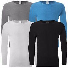 Thermal Men's  Winter Inner Tops Warm Underwear Long Sleeve Vest Shirts S/M/L/XL