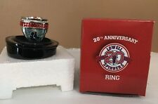 Rare Lowell Spinners 20th Anniversary SGA Commemorative Ring - Boston Red Sox