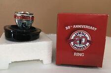 Rare Lowell Spinners 20th Anniversary SGA Commemorative Ring - Boston Red Sox
