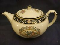WEDGEWOOD RUNNYMEDE BLUE LARGE TEAPOT, NEVER USED, MINT CONDITION!
