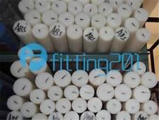 Raw Materials /2pc White Acetal POM Plastic Round Bar Rod Diameter 8mm Length 500mm #EE-DM