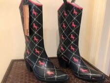 Womans Cowboy Rubber Boots size 6