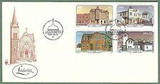 Südwestafrika - FDC Historische Bauten in Lüderitzbucht 1981 Mi. 508-511