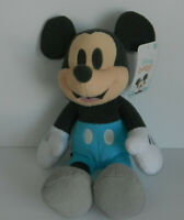 Disney Baby Mickey Mouse 2020 Blue Gray 14in Plush Stuffed Animal Toy
