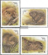 Weißrußland 96-99 (kompl.Ausg.) postfrisch 1995 Biber