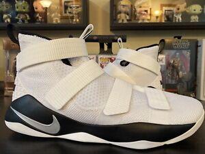Nike Air Lebron Soldier 11 XI TB Promo size 17.5 NBA Lebron James White Black