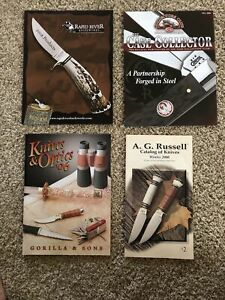 CASE COLLECTOR Magazine & Rapid River Knife Works, AG Russell & Gorilla Catalogs