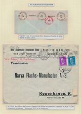 Estonia. 1940. Censored cover to Denmark
