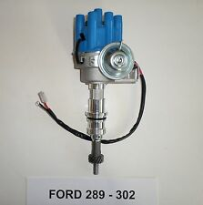 Small Block FORD 260-289-302 BLUE Female Small Cap HEI Distributor ELECTRONIC