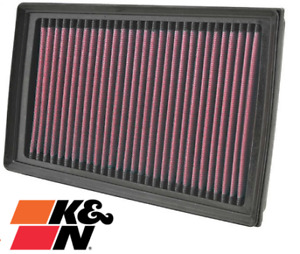 K&N REPLACEMENT AIR FILTER FOR NISSAN X-TRAIL T31 MR20DE M9RD M9RC 2.0L I4
