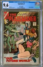 Peacemaker #3 (1967) CGC 9.6 -- Single highest graded copy; White pages Charlton