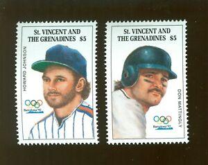 St.Vincent and Grenadienes 1987 2 stamps Mi# 2113-14 set MNH CV=9€