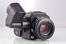 HASSELBLAD 2000 FCW BLACK + PLANAR 2.8/80 CF + MOTOR CLA REVISADA Y GARANTIZADA