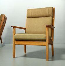 Hans J. Wegner Sessel Getama 265A Hochlehner Teak Lounge Vintage Chair 1970s
