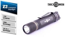 New SolarForce Z2 Cree XP-G2 R5 120 Lumens LED Flashlight Torch ( 2A, AA )