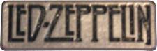 "LED ZEPPELIN Heavy Metal Rock Band NAME LOGO Unisex Pewter Metal PENDANT 2"" New"