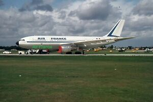 1970's Color Slide -  Air France Aircraft