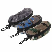Fashion Glasses Box Zipper Portable Camouflage Sunglasses Case Optical Eyewear
