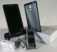 "Samsung Galaxy NOTE 4 SM-N910A (AT&T) Black 32gb 4G LTE GSM ""UNLOCKED"". *8/10"