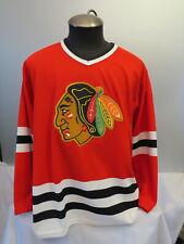 Chicago Blackhawks Jersey (VTG) - Away Red By CCM - Men's Large