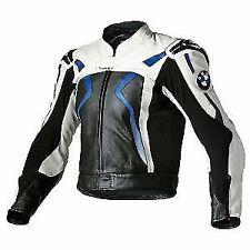 BMW Motorcycle Leather Jacket Motorbike Sports Racing Leather Jacket Safety Pads