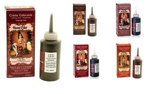 HENNA Hair CREAM DYE Natural Hair Color AMMONIA FREE 90ml 3.04Fl.oz
