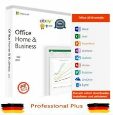 MAC Microsoft Office 2019 Home & Business for 1 PC / Mac T5D-03216 Vollversion