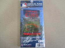 """CHICAGO CUBS WRIGLEY FIELD 27""""X 37"""" BANNER FLAG BRAND NEW WINCRAFT"""