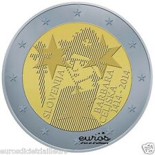 Pièce commémorative 2 euros SLOVENIE 2014 - Barbara Celjska - Neuve