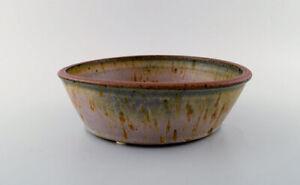 Helle Alpass (1932-2000). Large bowl of glazed stoneware, 1960/70s