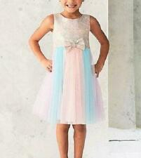 BONNIE JEAN® Toddler Girl 3T Brocade/Mesh Ballerina Dress NWT