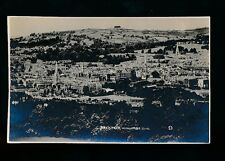 Somerset BATH from Widcombe Hill c1920/40s? RP PPC local publisher G.L.Dafnis