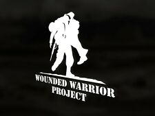 Wounded Warrior Project Vinyl Decal Sticker