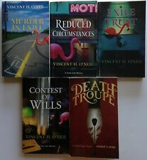 Vincent H. O'Neil complete FRANK COLE Mystery series (1-4) + DEATH TROUPE  5 lot