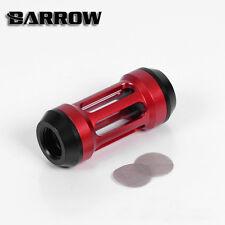 """Barrow g1/4"""" Rosso Sangue Sistema di raffreddamento a liquido RACCORDO Filtro Acqua Raffreddamento"""