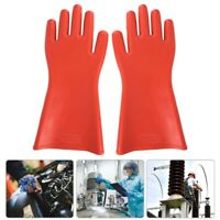 Insulated Rubber Gloves High-voltage Proof Waterproof Electrical Safety Protect