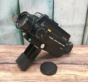 Serviced Canon Auto Zoom 318M Super 8 Movie Cine Camera + Lens Cap