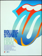 THE ROLLING STONES POSTER PAGE . 2002 FORTY LICKS ALBUM ADVERT . N10
