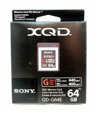 Sony G Series 64GB XQD High Speed Memory Card - QDG64E