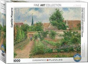 Eurographics Puzzle 1000 Piece Jigsaw - Vegatable Garden Overcast EG60000825